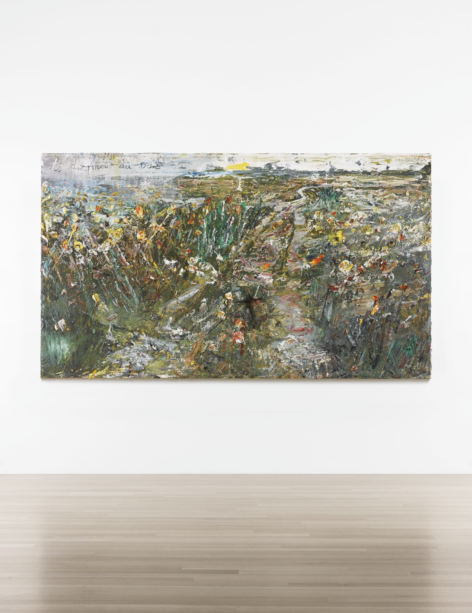 anselm kiefer le dormeur du val 2014 oil. Black Bedroom Furniture Sets. Home Design Ideas
