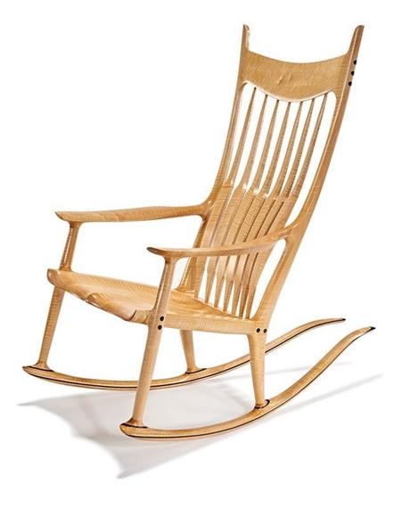 Awe Inspiring Maloof Sam Rocking Chair 2009 Mutualart Inzonedesignstudio Interior Chair Design Inzonedesignstudiocom