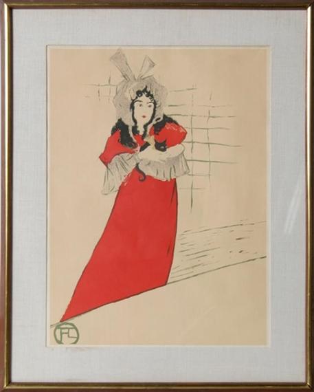 Henri toulouse lautrec divan japonais for Divan japonais poster value