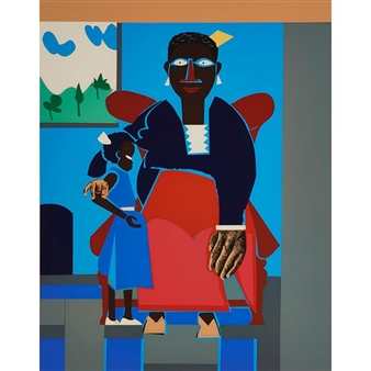 romare bearden the family Colorfully improve your space today with romare bearden posters and prints  you love that won't break the bank simply discover the perfect romare bearden .