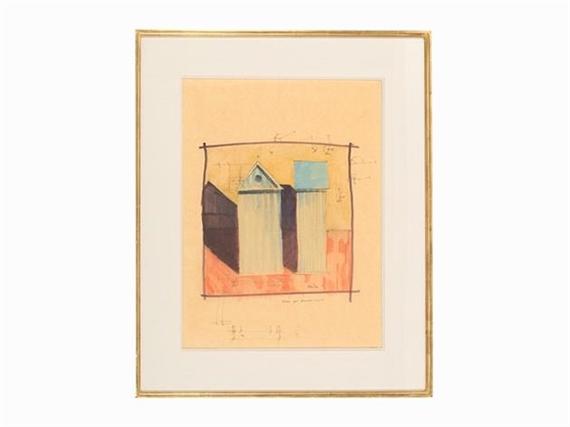 Aldo rossi studio per armadio cabina 1980 for Armadio per studio