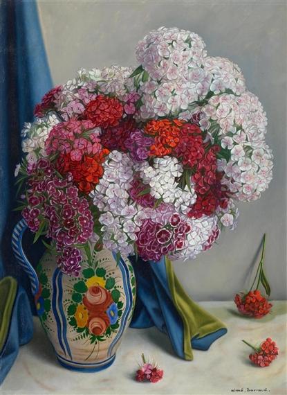 Barraud aime 29 artworks mutualart - Oeillets de poete ...
