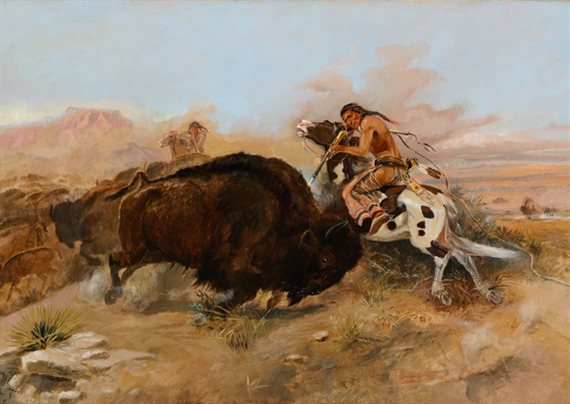 Charles Marion Russell, Meat for the Tribe