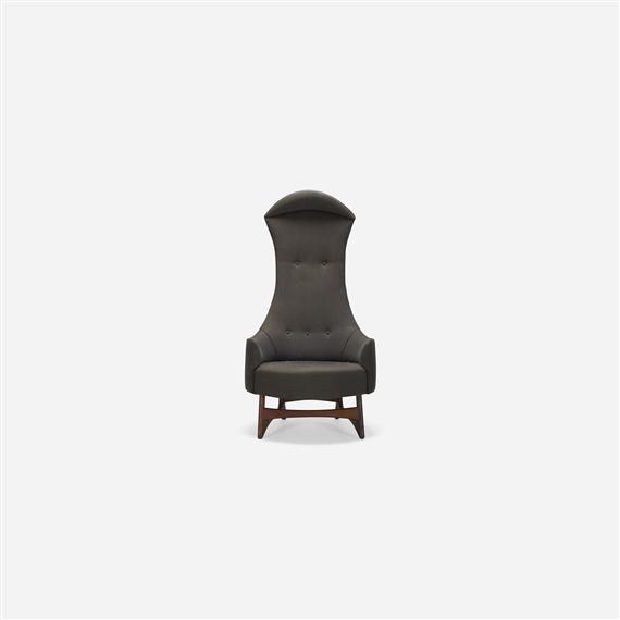 Fabulous Pearsall Adrian High Backed Chair Circa 1960 Mutualart Camellatalisay Diy Chair Ideas Camellatalisaycom