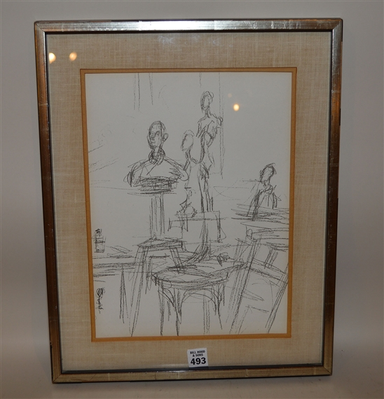 Artworks of alberto giacometti swiss 1901 1966 for Derriere le miroir giacometti