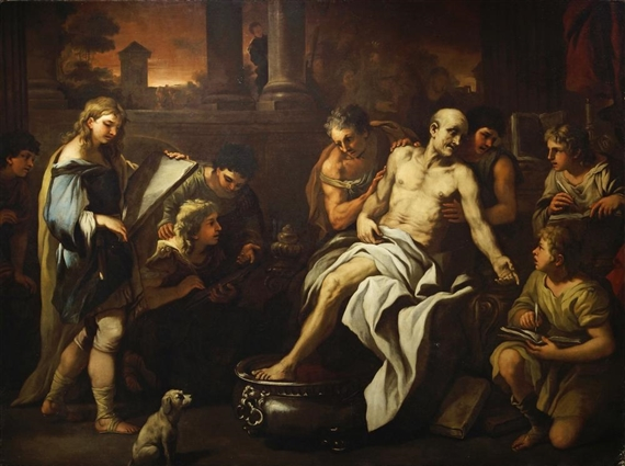 Giordano Luca | The Death of Seneca | MutualArt