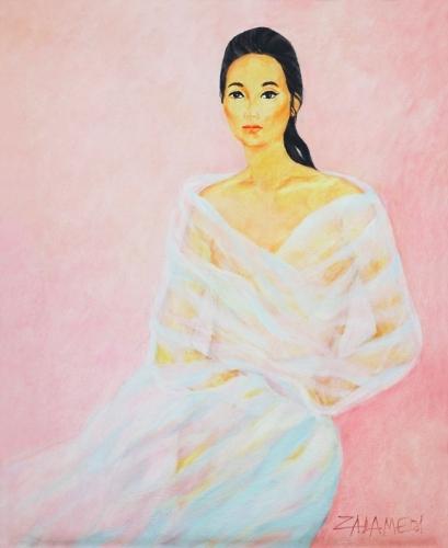 Zalameda Oscar Portrait Of Chona Kasten Mutualart
