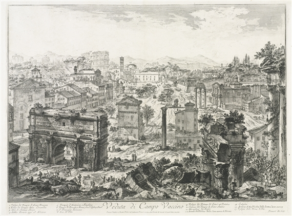 Giovanni Battista Piranesi Views Of Rome 10