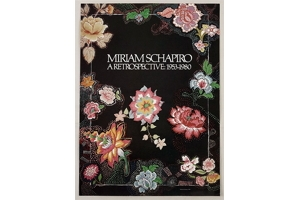 """an overview of the life and work of miriam schapiro an artist American tapestry alliance donate miriam schapiro and judy chicago founded the in """"woven forms,"""" expressions of an artist mastering her."""