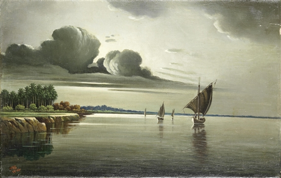 Abdul Kadir Al Rassam, View of the Tigris