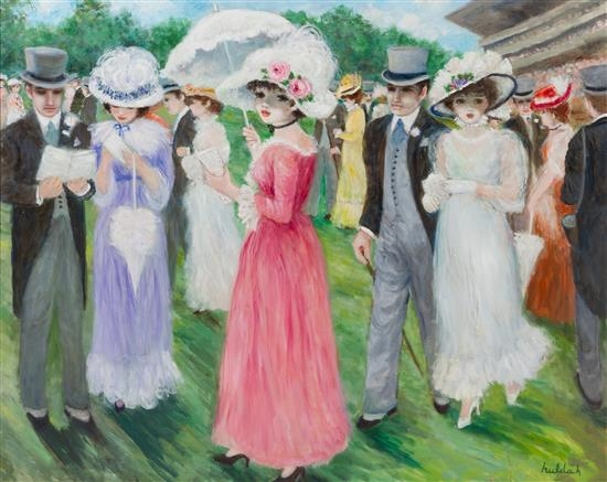 At the Races - Huldah Cherry Jeffe