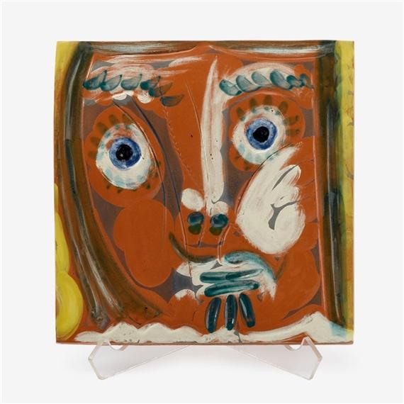 Pablo Picasso Pomona Woman S Face 1968 1969