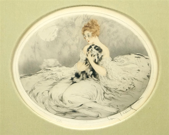 Louis Icart, Contentment