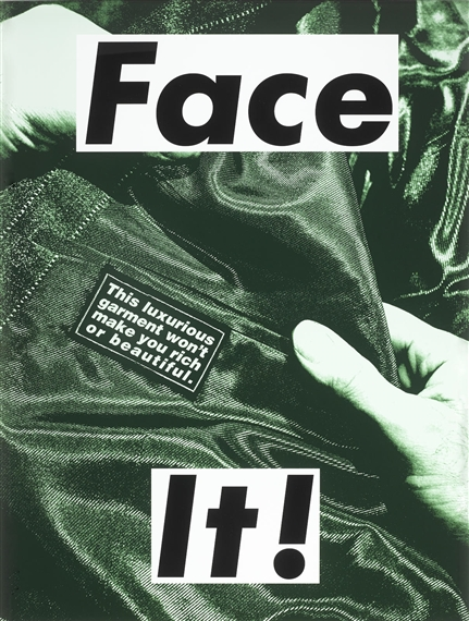 barbara kruger an art analysis Barbara kruger: a detailed analysis barbara kruger, an artist whose work  represents something we are immersed in everyday of our lives, is a  contemporary,.