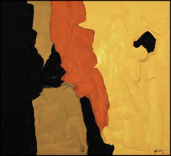 Lise Gervais Puck 1965 Oil On Canvas