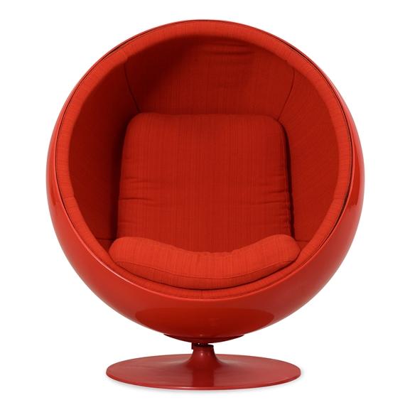 Artwork By Eero Aarnio Ball Chair Asko Finland