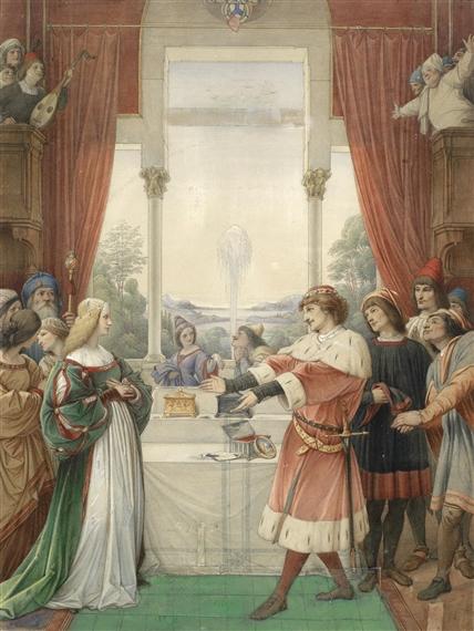 the merchant of venice casket scene