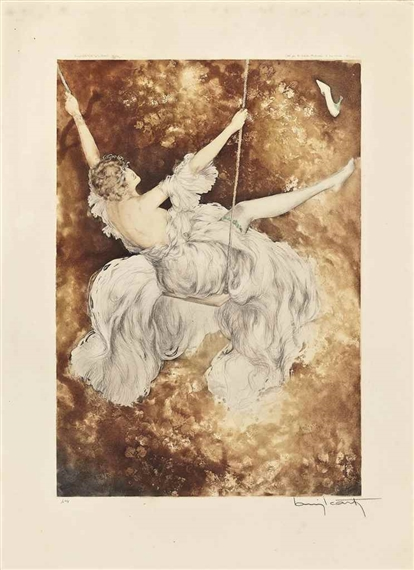 Louis Icart, THE SWING