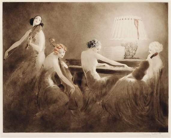 Louis Icart, MELODY HOUR