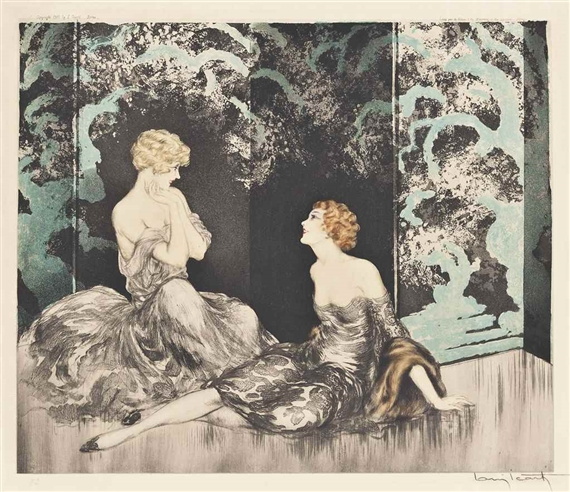 Louis Icart, INTIMACY