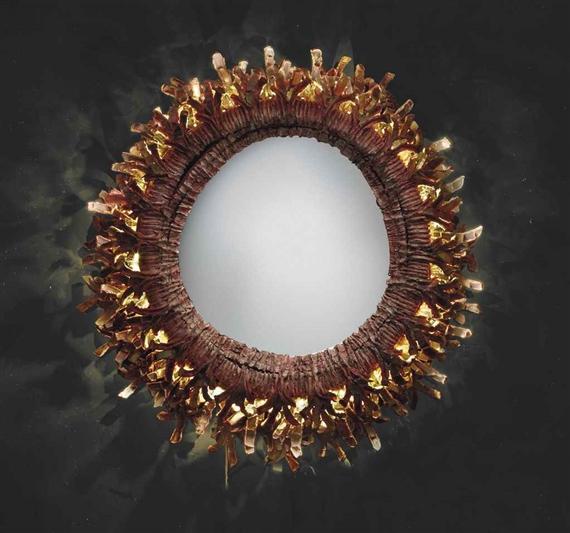 Line vautrin miroir sorici re clairant corail for Miroir eclairant