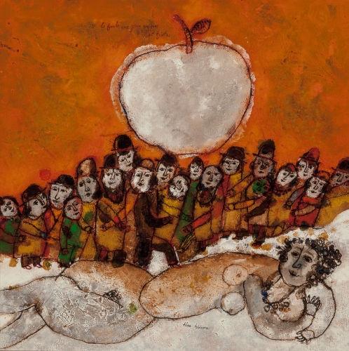 Theo Tobiasse, La foule aux yeux comiques et tristes