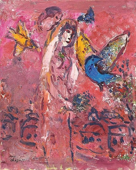 Marc Chagall - Songe de Salomon, 1958, hand...