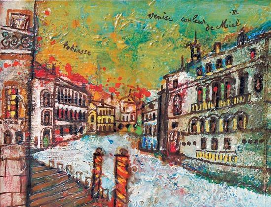 Theo Tobiasse, Venise couleur de miel VI