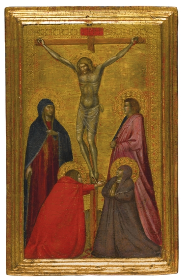 Lorenzetti Pietro The Crucifixion With The Virgin And Saints Mary