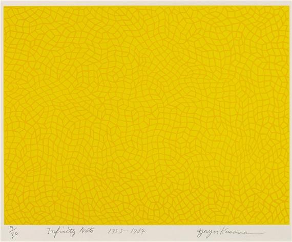 Kusama Yayoi | Infinity Nets (1953 - 1984) | MutualArt