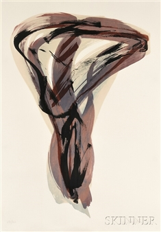 Istvan Nadler Untitled 1991 Color Lithograph