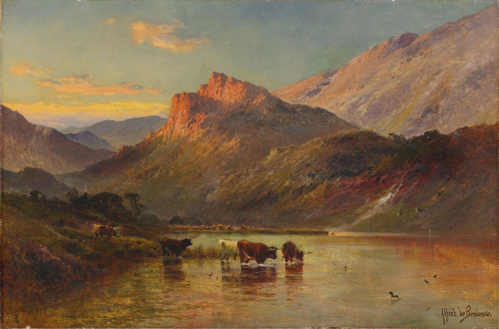 Alfred De Breanski S Paintings For Sale
