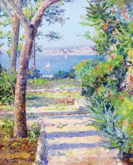 Pierre bittar le jardin sur la m diterran e oil - Un jardin sur le mediterranee ...