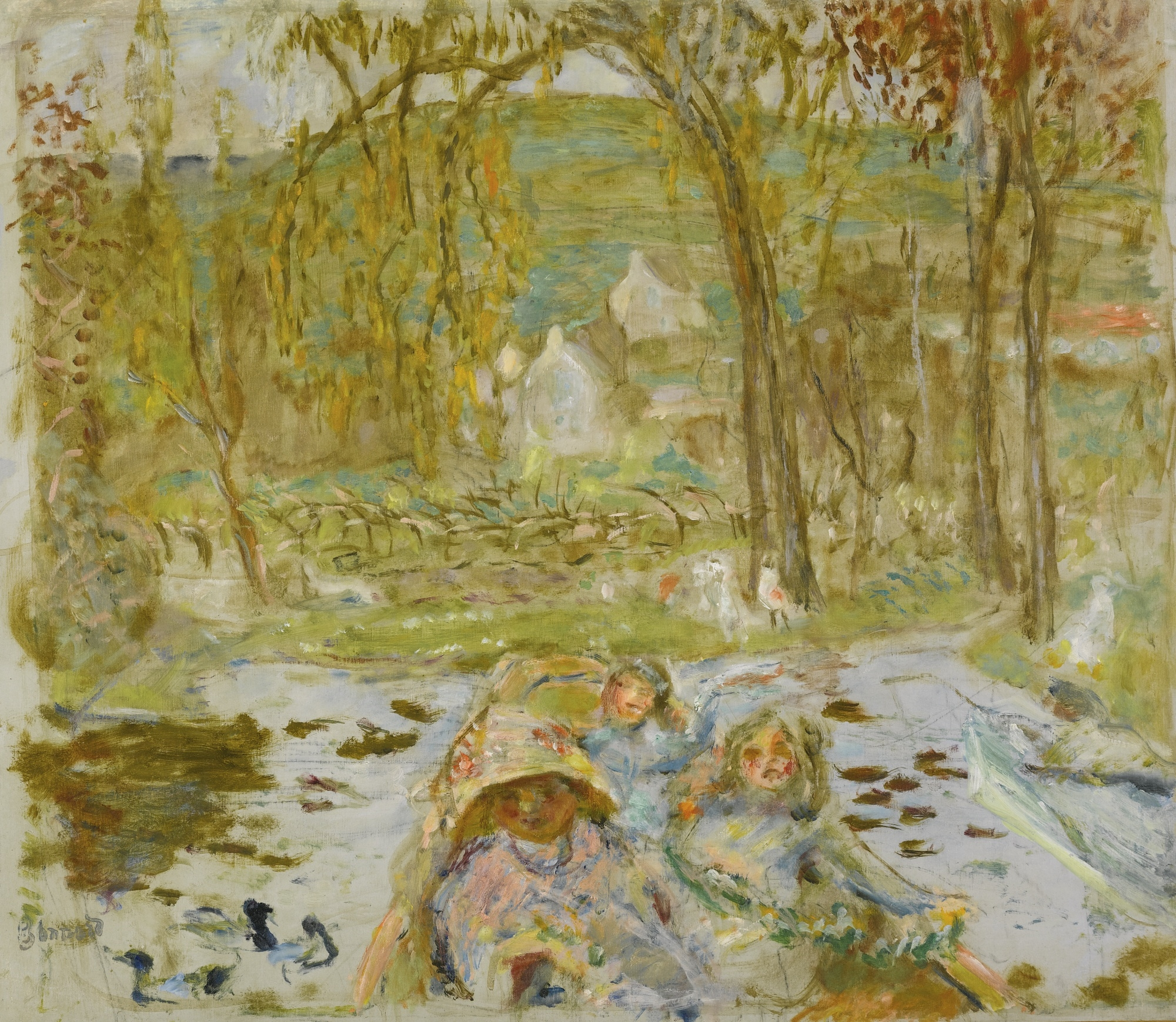 Art Collector 11 Paintings By Pierre Bonnard French Nabi