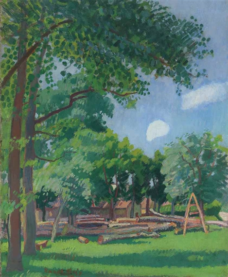 Dufy raoul le peintre et son mod le 1909 mutualart for Jardin wilson nice