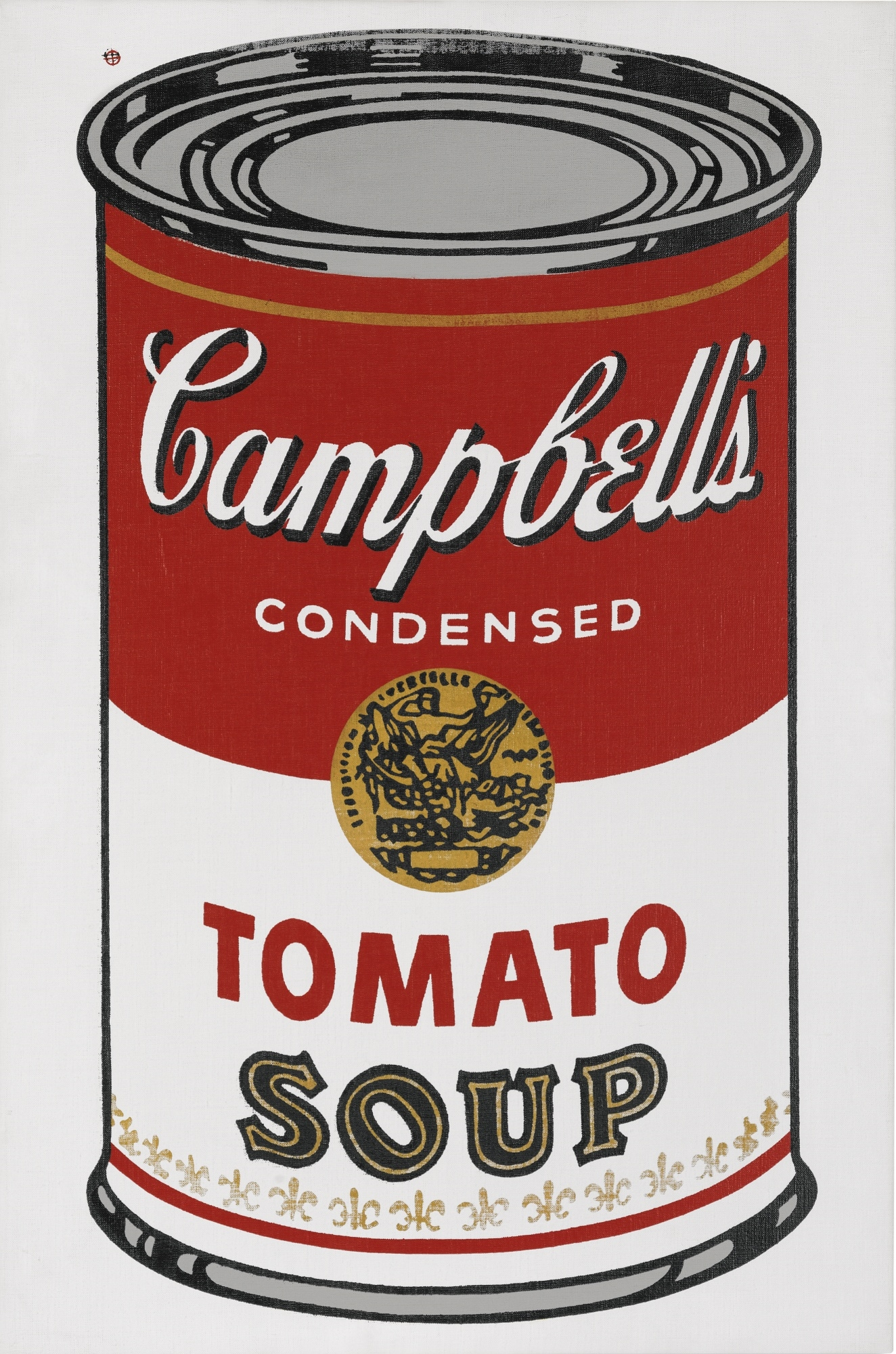 andy warhol large campbell s soup can 1964. Black Bedroom Furniture Sets. Home Design Ideas