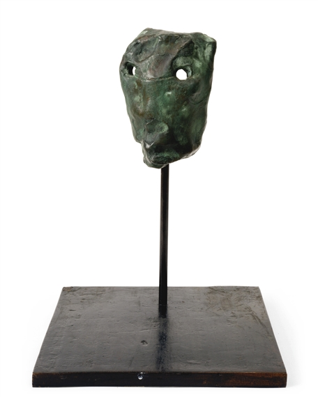 G 252 Nther F 246 Rg Untitled Circa 1990 Bronze With