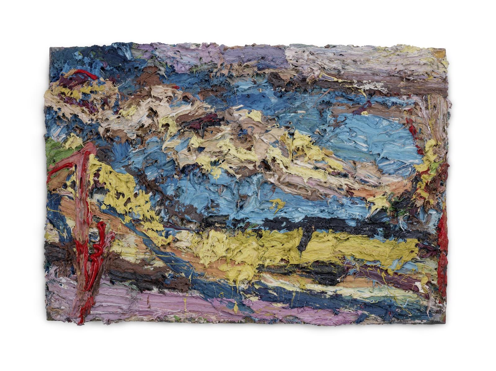 Frank Auerbach, EOW on her Blue Eiderdown IV (500-700k) 1