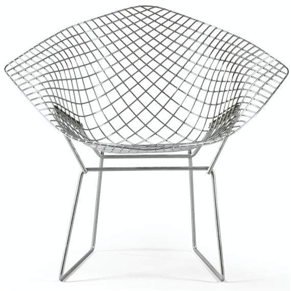 Artwork By Harry Bertoia Chaise Diamond Made Of Steel