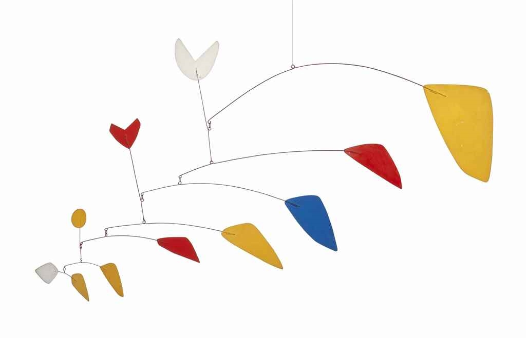 Alexander Calder - Untitled, 1967, hanging mobile:... Alexander Calder Mobile Names