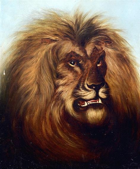 Smythe thomas portrait of a lion mutualart for Smythe inc