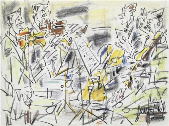 Gen Paul Le Quatuor 224 Cordes 1965 Pastel And