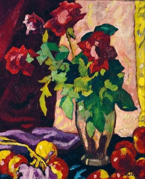 Louis valtat bouquet de fleurs oil on canvas for Bouquet de fleurs 2016