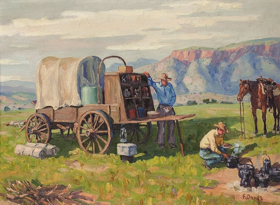 Ranch Chuck Wagon