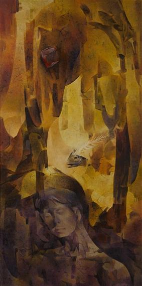 artworks of cesar legaspi  filipino  1917