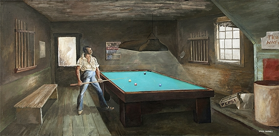Artworks Of Ernie Barnes American 1939 2009