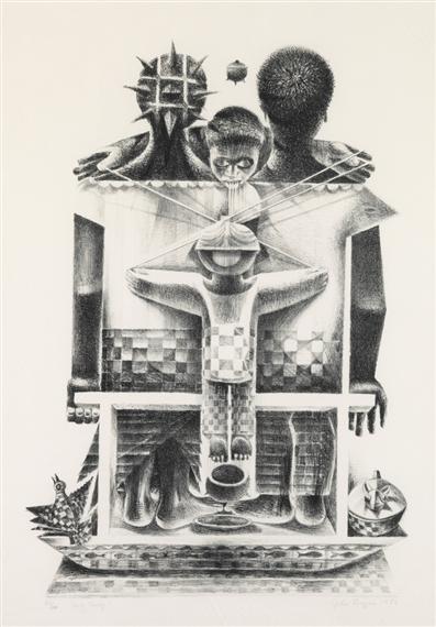 Artworks Of John Biggers American 1924 2001