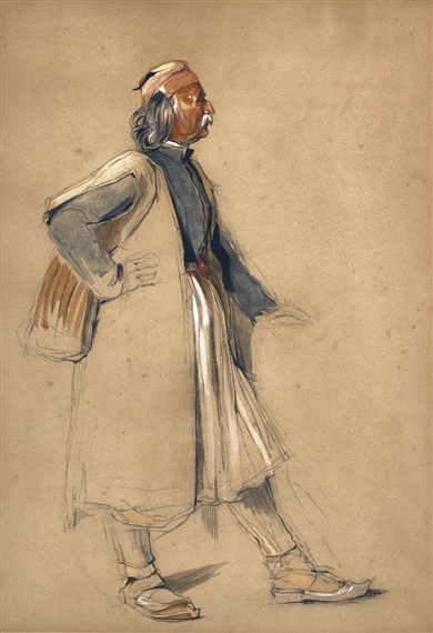 John Frederick Lewis, AN OLD SULIOTE