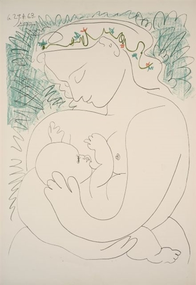 Picasso Pablo | MATERNITE - (1963) | MutualArt