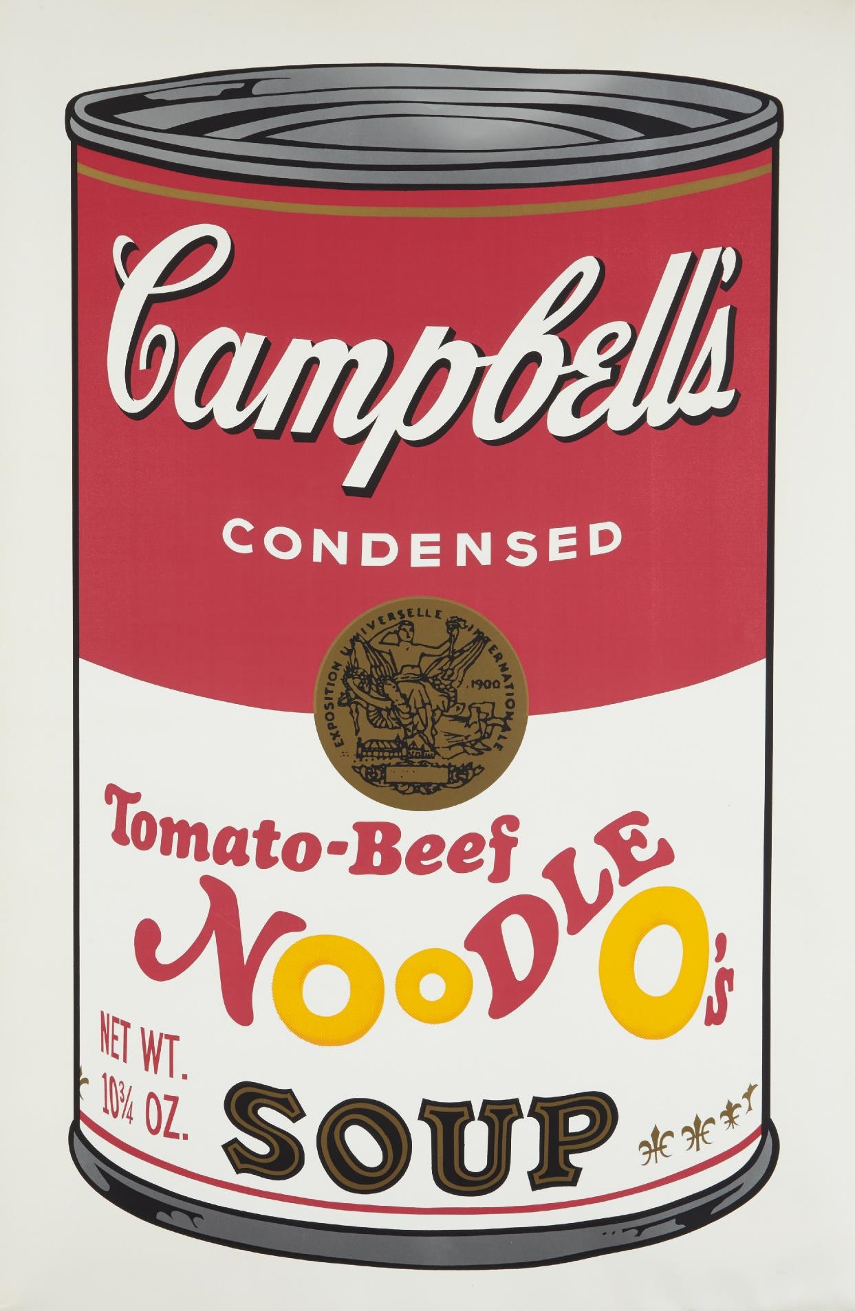 andy warhol tomato beef noodle o 39 s from. Black Bedroom Furniture Sets. Home Design Ideas
